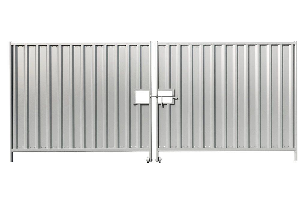 panel pełny z blachy trapezowej MI-KO